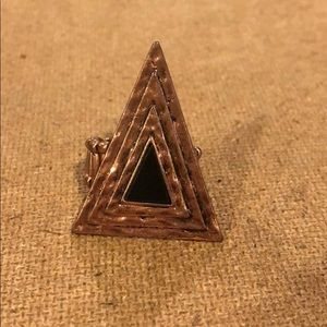 Jewelry - Rose Gold Triangle Ring
